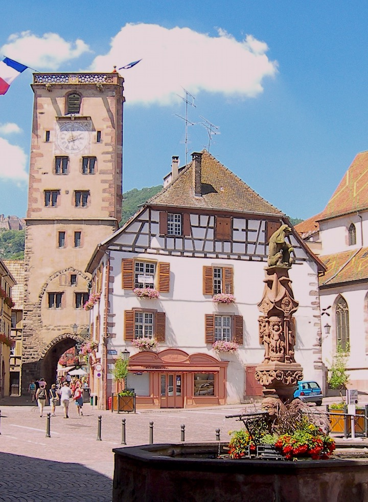 ribeauville-alsace-france